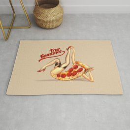Hot Pizza! Rug