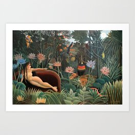 Henri Rousseau The Dream Art Print