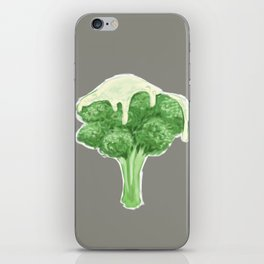 Broccoli & Cheese iPhone Skin