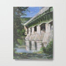 Rt 201S Bridge Metal Print