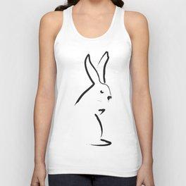 Zen Snow Bunny Unisex Tank Top