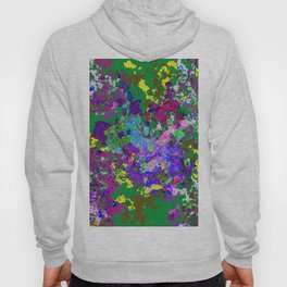 Green background texture Hoody