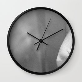 a couple of glasses Wall Clock