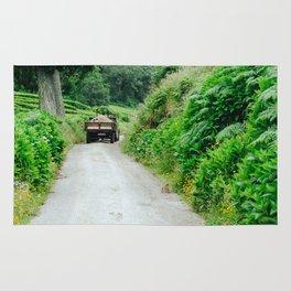 Le tracteur (Azores) Rug