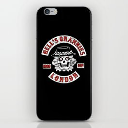 Hell's Grannies 1969 iPhone Skin