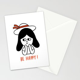 Be happy ! Stationery Cards