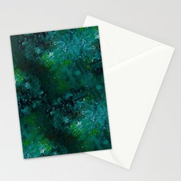 Emerald green Stationery Cards