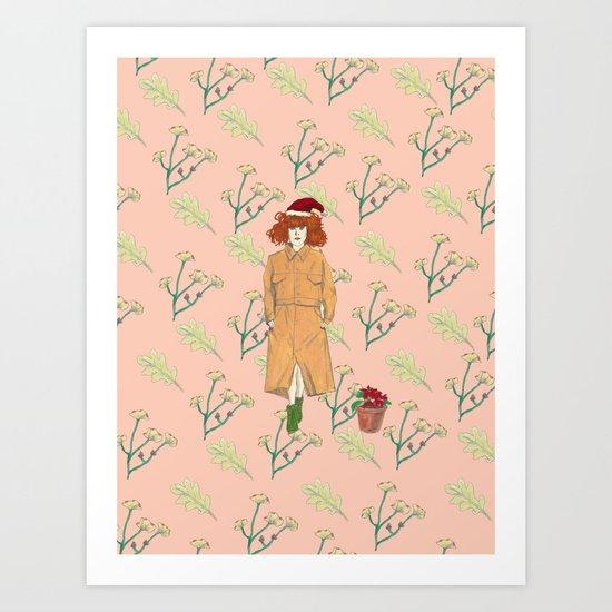 MerryXmas Art Print