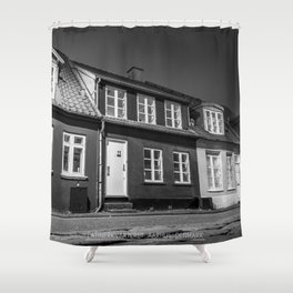 Charming houses, Aarhus Shower Curtain