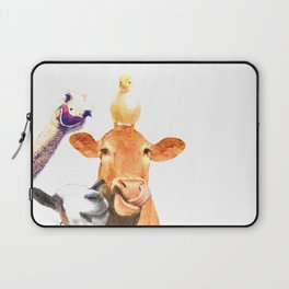 Farm Animal Friends Laptop Sleeve