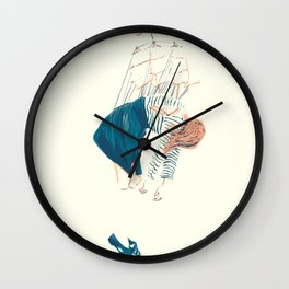levitating Wall Clock