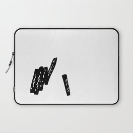 Drawing charcoal sticks Laptop Sleeve