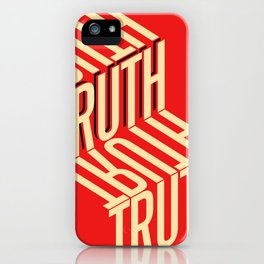 Finding Truth iPhone Case