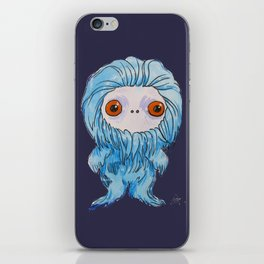 Moonkhin 3 (blue tranquil) iPhone Skin