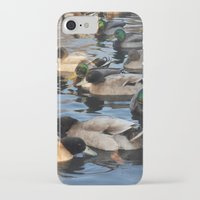 ducks iPhone & iPod Cases featuring Ducks by greenelent