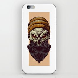 Bonehead iPhone Skin