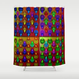 Formations ... Shower Curtain