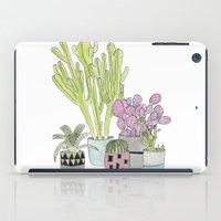 cactus iPad Cases featuring Cactus by Olivia James