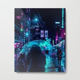 midnight city Metal Print