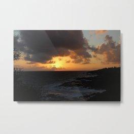 Kauai Night Sky Metal Print