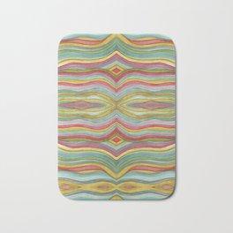 Striped 01 horizontal Bath Mat