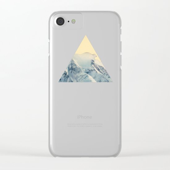 Avalanche Clear iPhone Case