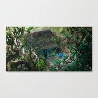 florida Canvas Prints featuring Florida by Ryan Smith