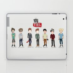 Youtube Boys  Laptop & iPad Skin