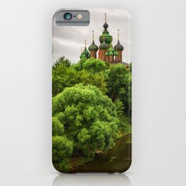 St. John the Baptist Church in Yaroslavl iPhone Case