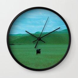 Keeping Distance Wall Clock
