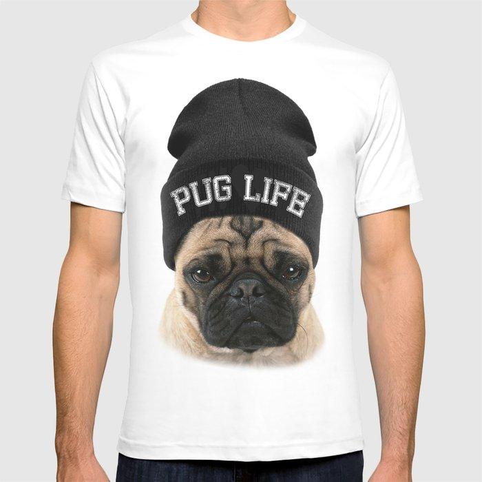 af62ee4a2d9f Pug Life T-shirt by justinchou