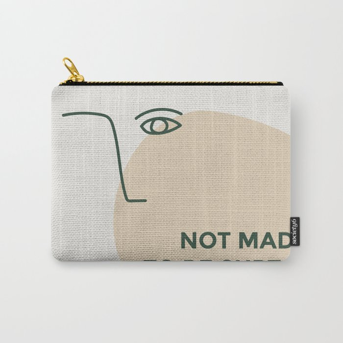 not made to be subtle Carry-All Pouch