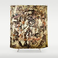 cyclops Shower Curtains featuring Urban Cyclops by Fernando Vieira