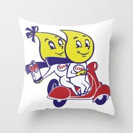 ESSO Throw Pillow