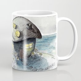 Mouse House in the Moonlight Coffee Mug