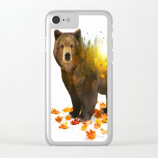 Equinox | Bear Clear iPhone Case