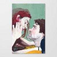 eternal sunshine Canvas Prints featuring Eternal Sunshine by Tayo