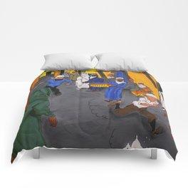 Bloody Do Gooders Comforters