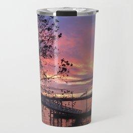 Zoo Cruise Landing - Sunsets at The Fly series Travel Mug