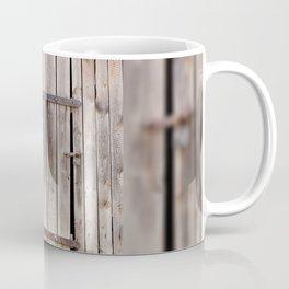 shed dilapidated cubby door Coffee Mug