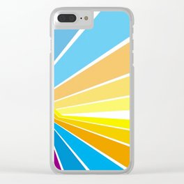 Stripes universe Clear iPhone Case