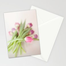 Bunch Of Tulips  Stationery Cards