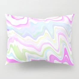 Delicate Marbled Watercolor Pillow Sham