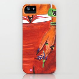 WOMANHOOD'S A LICENCE TO BE EXOTIC iPhone Case