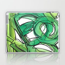 Nature's Lever Modern Watercolor Painting Laptop & iPad Skin