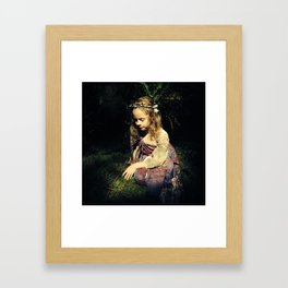 Among Fairies  Framed Art Print