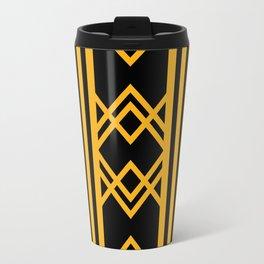 Art Deco Pattern Travel Mug
