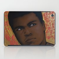 ali gulec iPad Cases featuring Ali Bumaye Mr.Klevra by Mr.Klevra