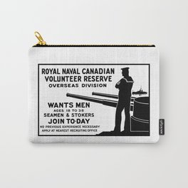 Royal Naval Canadian Volunteer Reserve Carry-All Pouch