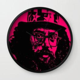 Outlaws of Literature (Allen Ginsberg) Wall Clock